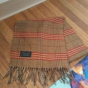 Christian Dior cashmaire scarf